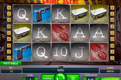 crime scene netent gokkasten