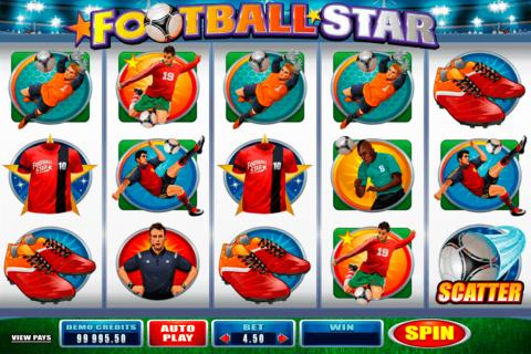 football star microgaming gokkast