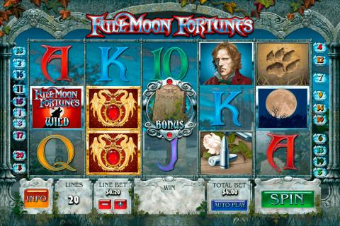 full moon fortunes playtech gokkast