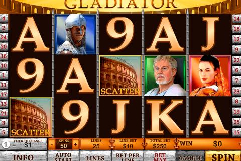 gladiator playtech gokkast