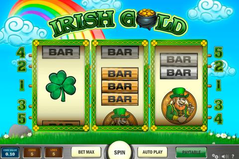 irish gold playn go gokkast