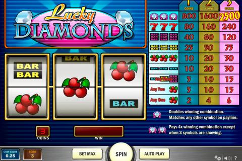 lucky diamonds playn go gokkast
