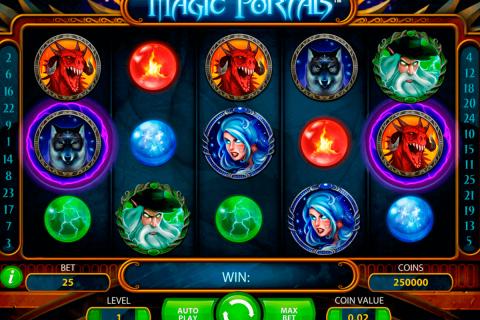 magic portals netent gokkasten