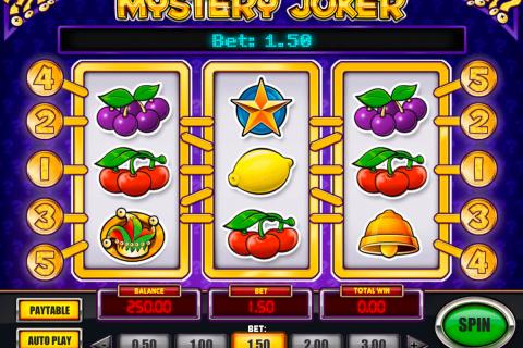 mystery joker playn go gokkast