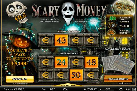 scary money yggdrasil krasloten