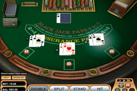 single desk blackjack betsoft blackjack