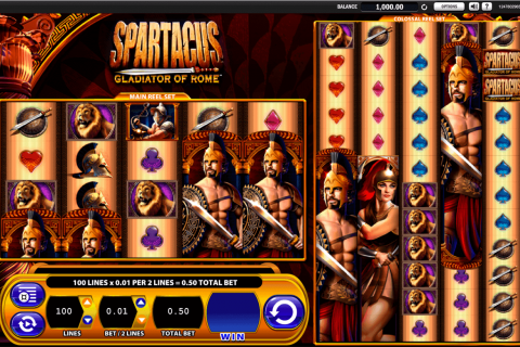 spartacus wms gokkast